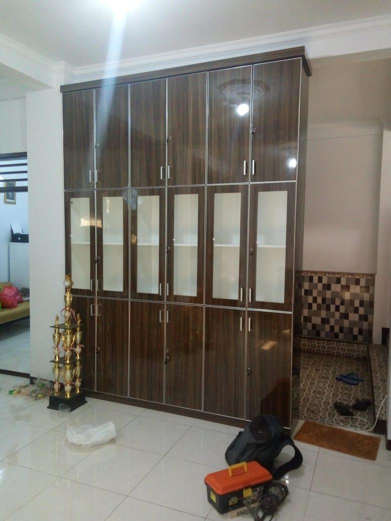 lemari set minimalis